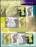2007 S.Korea - Ancient Maps Of Korea -- Sheetlet - MNH** MiNr. 2571 - 2574 - Korea (Süd-)