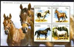 2011 Ireland / Irland - Horses Of Ireland -  MS MNH** MiNr. 1987 - 1990 (Block 87) - 1949-... Republik Irland