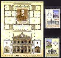 2008 Vatican - 500 Yars Of A. Palladio - Architector - Full Set 2v And MS- Paper - MNH** MiNr. 1623 - 1624 +B 31 - Ungebraucht