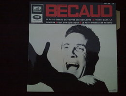 Bécaud: Le Petit Oiseau De Toutes Les Couleurs.../ 45t La Voix De Son Maître EGF 866 M, Languette - Vinyl-Schallplatten