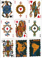 BARAJA POKER, PLAYING CARDS DECK, PRE-COLOMBINA - Barajas De Naipe