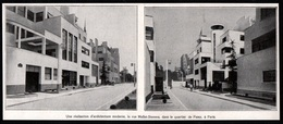 1927  --  PASSY  IMMEUBLES MODERNES RUE MALLET STEVENS  3Q751 - Old Paper
