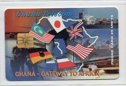 25 UNITS - GATEWAY TO AFRICA - Ghana