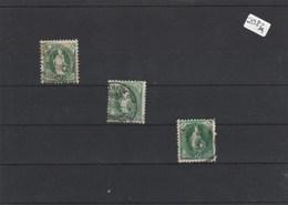 Schweiz     Gestempelt        3x  MiNr. 69 - Switzerland