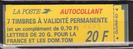 FRANCE Carnet 7 Timbres à Validité Permanente  N° 1503** - Usage Courant