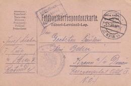 Feldpostkarte K.u.k. Rekonvaleszenten-Sammelstelle Rotunde Wien Nach Krems - 1916 (39631) - 1850-1918 Imperium