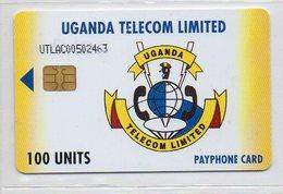 100 UNITS - UGANDA TELECOM LIMITED - Ouganda