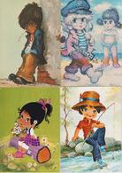 FANTAISIES  -  LOT DE 16 CARTES ENFANTS  - - Cartes Postales