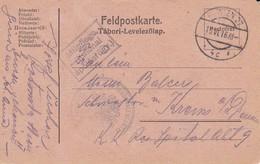 Feldpostkarte K.u.k. Rekonvaleszenten-Sammelstelle Rotunde Wien Nach Krems/Donau - 1916 (39635) - 1850-1918 Imperium