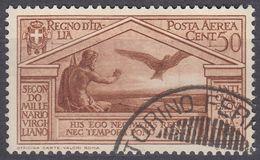 ITALIA - 1930 - Posta Aerea, Yvert 21, Usato. - 1900-44 Vittorio Emanuele III