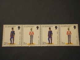 GUERNSEY - 1974 UNIFORMI 2 + 2 VALORI - NUOVI(++) - Guernesey