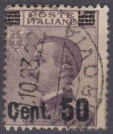 ITALIA - 1923 - Yvert 133 Usato. - 1900-44 Vittorio Emanuele III