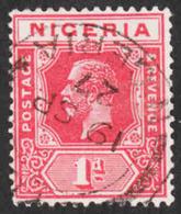 Nigeria - Scott #19 Used (1) - Nigeria (...-1960)
