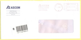 ITALIA - ITALY - ITALIE - 2002 - 02,99€ EMA, Red Cancel - ASCOM - Raccomandata A.R. - Viaggiata Da Ravenna - Affrancature Meccaniche Rosse (EMA)