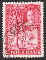 Nigeria - Scott #39 Used (2) - Nigeria (...-1960)