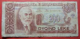 ALBANIA 200 LEKE 1994 CU 304178 - Albanie