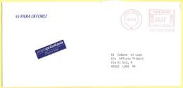 ITALIA - ITALY - ITALIE - 2002 - 00,62€ EMA, Red Cancel - Posta Prioritaria - Fiera Di Forlì - Viaggiata Da Forlì Per Lu - Affrancature Meccaniche Rosse (EMA)