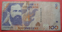 ALBANIA 100 LEKE 1996 KP 809490 - Albania