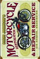 MOTOS POSTCARD 14 - Motos