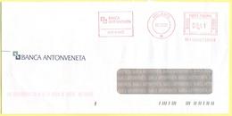 ITALIA - ITALY - ITALIE - 2002 - 00,41€ EMA, Red Cancel - Banca Antonveneta - Viaggiata Da Milano - Affrancature Meccaniche Rosse (EMA)