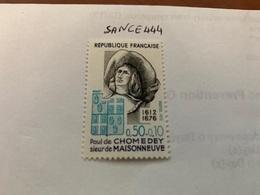 France Famous Paul De Chomedey Mnh 1972 - France
