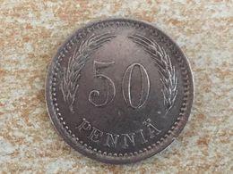 1921 Finland 50 Pennia Coin - Finland