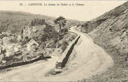 LA ROCHE En ARDENNE - Le Chemin Du Diable Et Le Château - Edition Henri Georges - N'a Pas Circulé - La-Roche-en-Ardenne