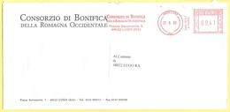 ITALIA - ITALY - ITALIE - 2002 - 00,41€ EMA, Red Cancel - Consorzio Di Bonifica Della Romagna Occidentale - Viaggiata Da - Affrancature Meccaniche Rosse (EMA)
