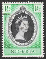 Nigeria - Scott #79 Used (3) - Nigeria (...-1960)
