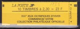 FRANCE Carnet 10 Timbres Faites De La Musique N° 2614-C9** - Carnets