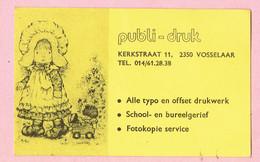 Sticker - Publi-druk - Kerkstraat Vosselaar - Stickers