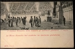 MONACO ALMACHIO CONTRO I GLADIATORI - Storia