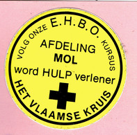 Sticker - Het Vlaamse Kruis - MOL - Stickers