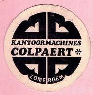 Sticker - Kantoormachines COLPAERT - ZOMERGEM - Stickers