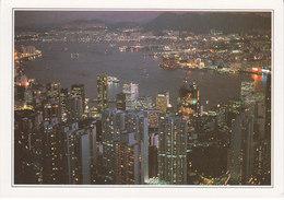 Chine La Baie De Hong Kong (2 Scans) - Chine (Hong Kong)
