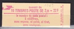 FRANCE Carnet 10 Timbres Faites De La Musique N° 2376-C2** - Carnets