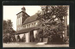 AK Bartenstein, Evangelische Stadtkirche - Ostpreussen
