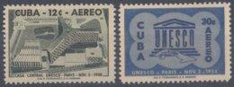 1958-369 CUBA REPUBLICA 1958 Ed.758-61. MNH. FUNDACION DE LA UNESCO. - Cuba