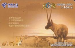 TARJETA TELEFONICA DE CHINA. FAUNA. XZ-ZNGH-CZ14(4-3). (676). - Tarjetas Telefónicas