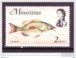 Mauritius, Poisson, Fish, Maurice, Élizabeth II - Poissons