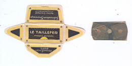 Lame De Rasoir Française LE TAILLEFER - French Safety Razor Blade Wrapper - Lames De Rasoir