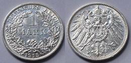 1 Mark Jäger 17 Silber Münze Großer Adler 1915 A Kaiserreich  (22008 - [ 2] 1871-1918: Deutsches Kaiserreich