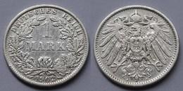 1 Mark Jäger 17 Silber Münze Großer Adler 1902 A Kaiserreich  (22006 - [ 2] 1871-1918 : Empire Allemand
