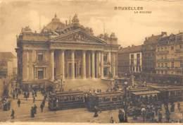 BRUXELLES - La Bourse - Monumenten, Gebouwen
