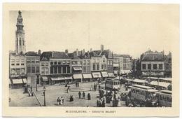 Middelburg Groot Markt - Unused - F B Den Boer - Middelburg