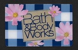 F-   Gift Card Bath&Body Works  Perfume Card - USA - Cartes Parfumées
