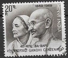 1969 Gandhi And Wife, Used - India