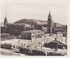 HAMBURG, GERMANY. HAUPTBAHNHOF CIRCA 1920s SIZE 9x7cm - BLEUP - Places