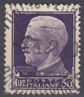 ITALIA - 1929 - Yvert 243 Usato. - 1900-44 Vittorio Emanuele III