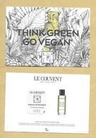 Carte Parfumée Avec Patch Perfume Card COLOGNE INTENSE * COUVENT DES MINIMES * R/V - Cartes Parfumées